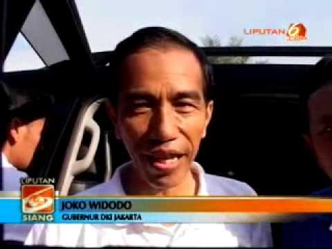 Bergowes, Jokowi Cicipi Jalur Sepeda Baru BKT
