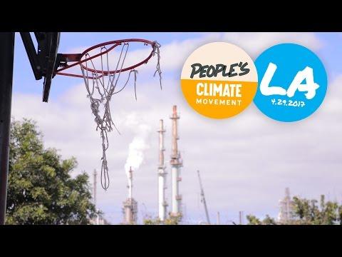 People's Climate March LA Harbor, April 29