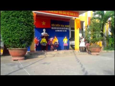 lớp 3A tiểu học Lai Thành B nhảy Day by day  chào mừng ngày 20/11/2014