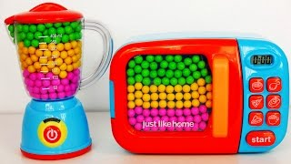 Microwave and Blender Toy Appliance Candy Surprise Toys for Kids