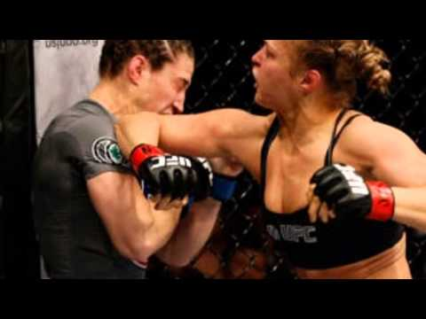 Ronda Rousey KOs Sara Mcmann In The First Round. Fastest UFC Knockout Debate