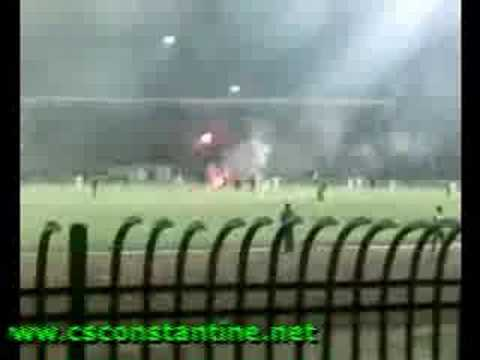 CS Constantine 0 - WR Bentalha 0 - La fête au stade