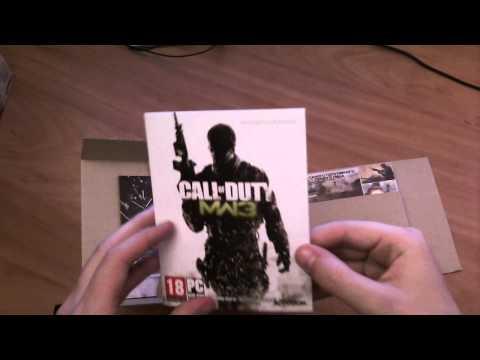 Видео Unbox русского коллекционного издания Call of duty MW3 от Gerki