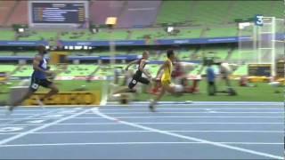 El Atleta más lento del Mundo (100 metros planos).