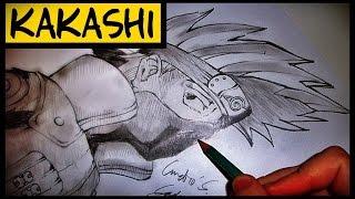 Como Desenhar Kakashi Hatake [Naruto Shippuden] (How To