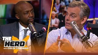 Jason Terry breaks down the young Lakers squad, Kawhi's success in Toronto & more | NBA | THE HERD
