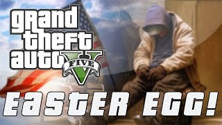 Grand Theft Auto 5 Secret Homeless War Veteran Easter
