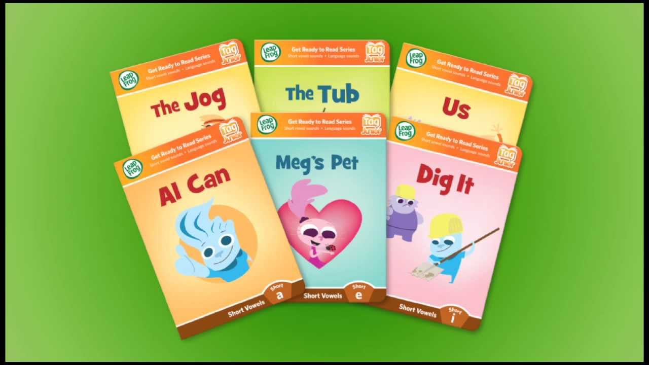 Leapfrog tag learn to read short vowels