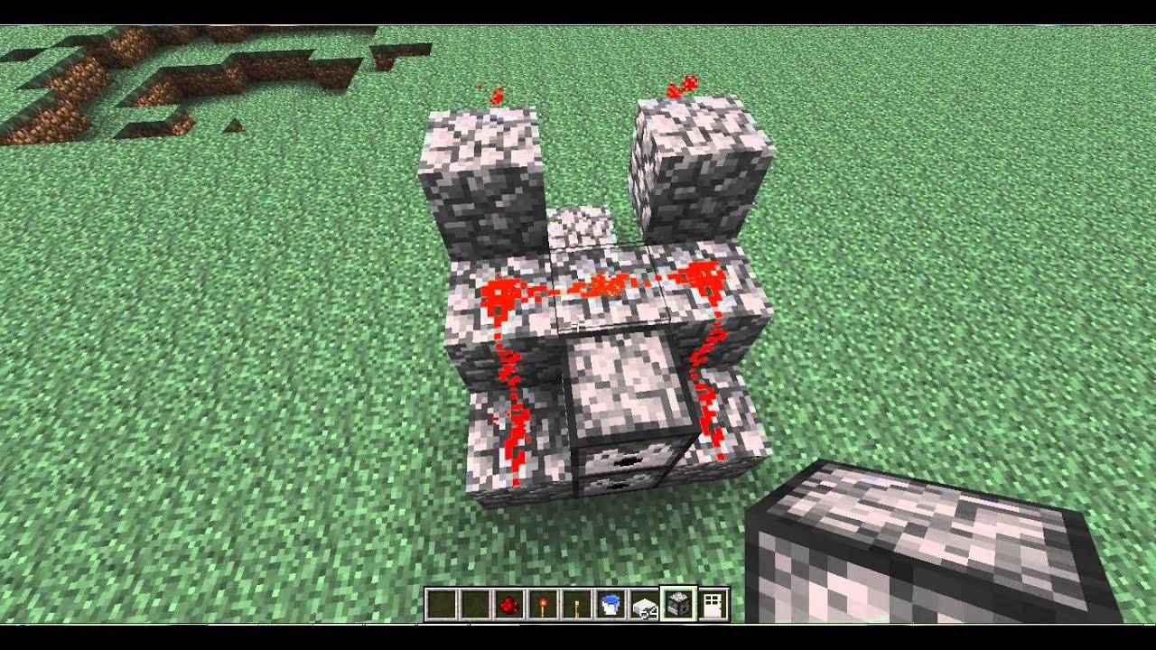 как создать динамитную пушку в minecraft #8