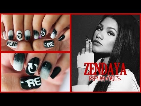 Zendaya - Replay Nails