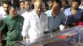 Rajnikanth Pays Homage Veteran Actress Manjula Vijayakumar Died