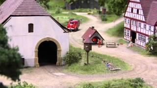 Die Feuerwehr bei der Modellbundesbahn in Bad Driburg