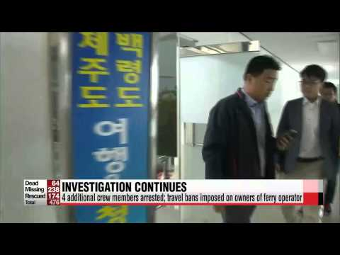 President Park says behavior of sunken ferry's captain is akin to murder