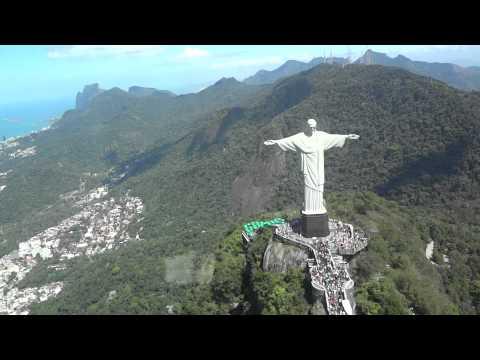 Helicoptor ride around Rio