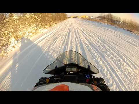 Hình ảnh trong video Yamaha Viper LTX SE MPI Turbo First ride
