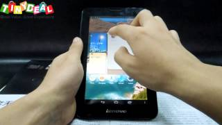 """(LENOVO) A3000 7"""" IPS Android 4.2 16GB MTK8389 3G Tablet"""