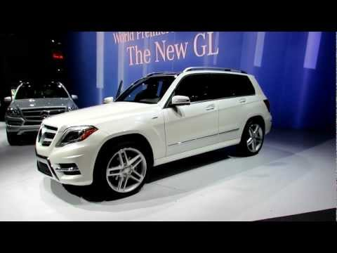 2013 Mercedes-Benz GLK350 Exterior and Interior at 2012 New York International Auto Show