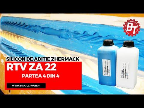 Realizare matrita flexibila din silicon RTV-ZA22 - Lumanare de cununie - Partea 4 din 4