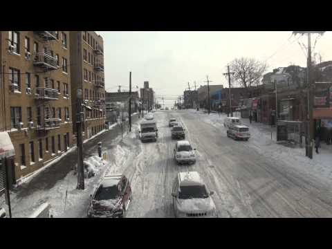 Mayor Bill Di Blasio Faces  First Big Winter Storm-2014-NEW YORK CITY.