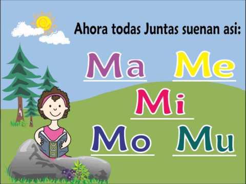 Letra M y Las Vocales