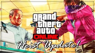 GTA 5 Online DLC Heist Update And Free GTA V DLC's Patch 1