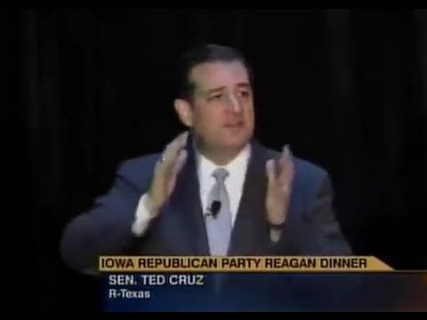 •Ted Cruz • Iowa Republican Party Ronald Reagan Dinner • 10-25-2013 •