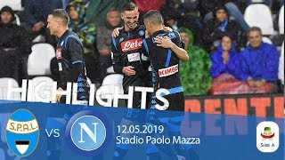 HL - Spal V Napoli 1-2