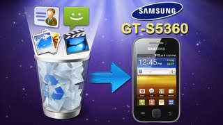 How To Recover Deleted Contents From Samsung Galaxy Y GT