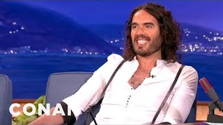 Conan: Russell Brand vs The Beauty of Hollywood's Ladies