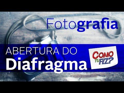 Fotografia - Abertura do Diafragma