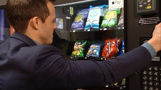 How to Get Your Stuck Snack Out of the Vending Machine