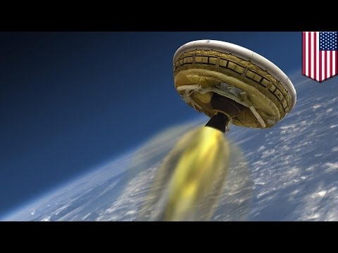 NASA's flying saucer, aka the Low-Density Supersonic Decelerator, paves the way for landing heavy sp