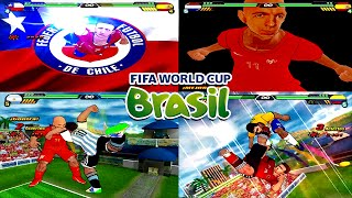 FIFA World Cup Brazil 2014 Special Dragon Ball Z Budokai