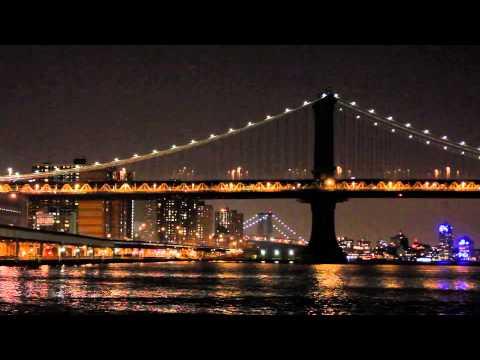 Brooklyn Bridge part 2 (New York city USA) ******relaxing city sounds*****