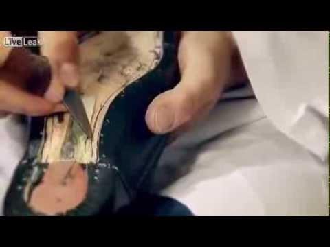 Quy trình sản xuất giày nam Men shoes