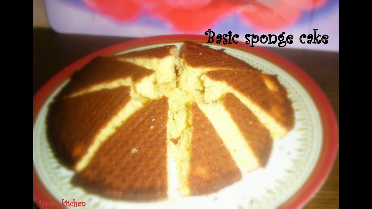 How To Make Sponge Cake At Home In Tamil