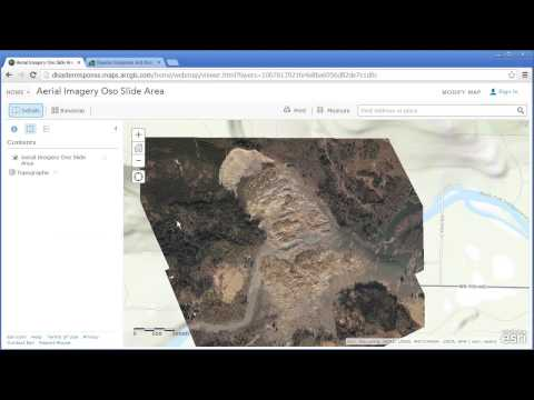 Investigating the Oso Washington Landslide Using Before-and-After Imagery in ArcGIS Online