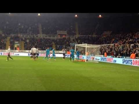 Newcastle United v Tottenham Hotspur highlights 12/02/2014