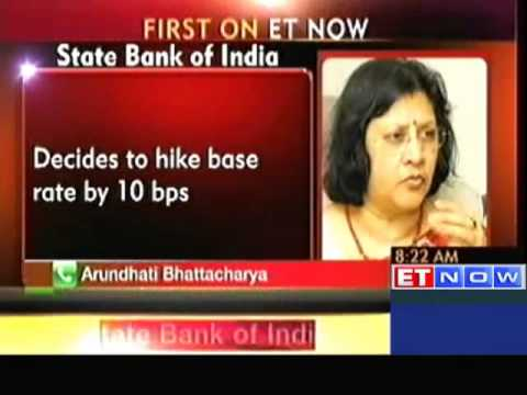 State Bank of India to hike base rate by 10 bps
