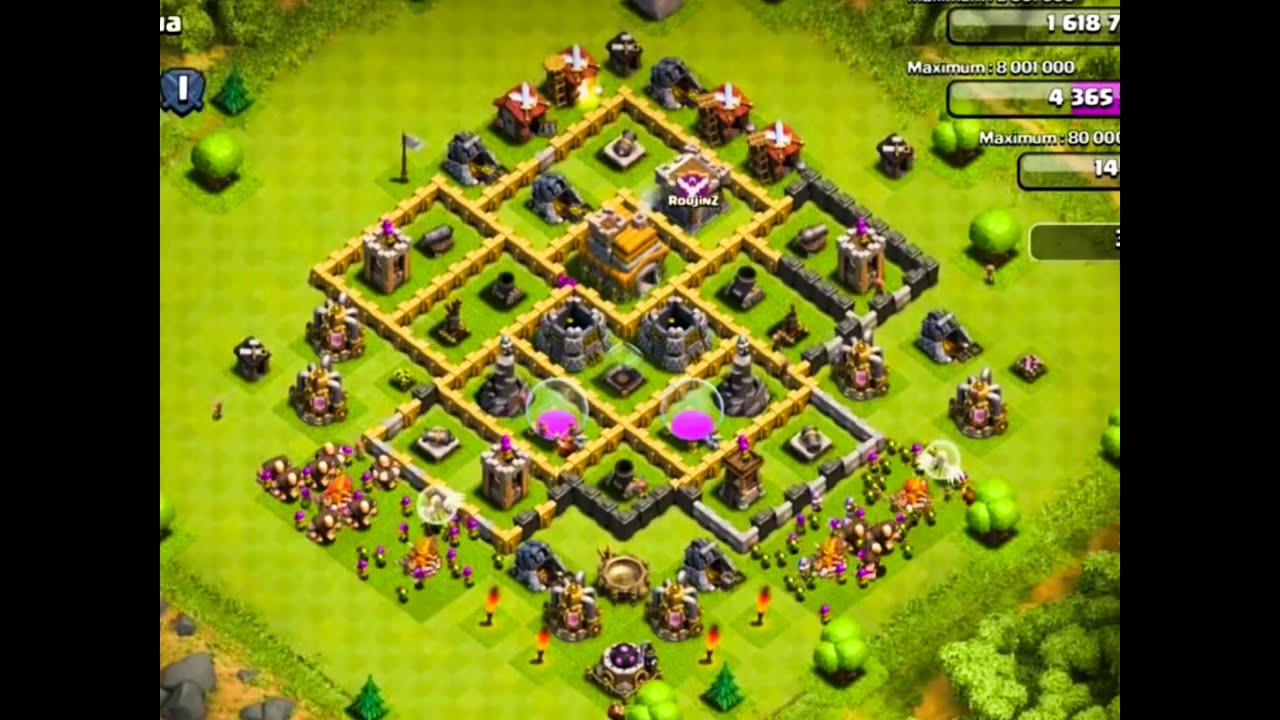The 2 Best Defense Bases For Town Hall Level 7