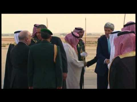 Raw: Obama Arrives in Saudi Arabia