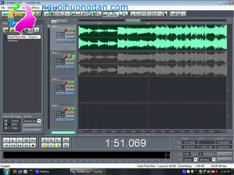Hướng dẫn tách lời bài hát phần 1 - nguoihuongdan.com