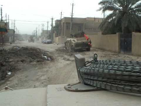 Road Side Bomb in Iraq