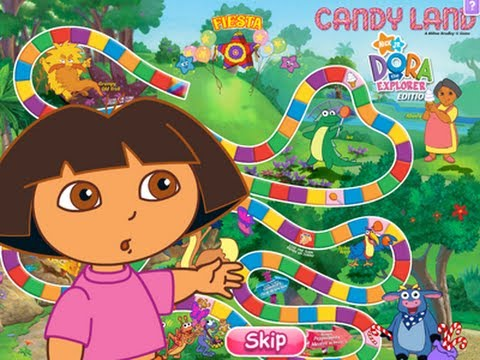 Dora the Explorer: Candy Land - Full Game 2014