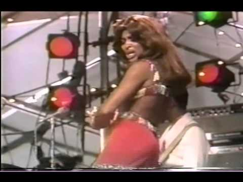 Ike & Tina Turner Central Park 1971- Proud Mary