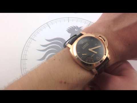 Panerai Luminor 1950 3 Days Automatic Oro Rosso PAM 393 Luxury Watch Review