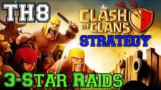 Clash Of Clans Strategies: Effective 3-Star Raids For