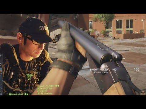 BF Hardline SAWED-OFF SHOTGUN Gameplay