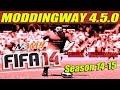 FIFA 14 + Moddingway 4.5.0 Tutorial y Links de Descarga Season 14-15