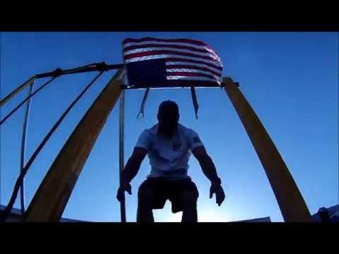 31 Heroes WOD: Ish & Former Navy SEAL (Filmed in Afghanistan)
